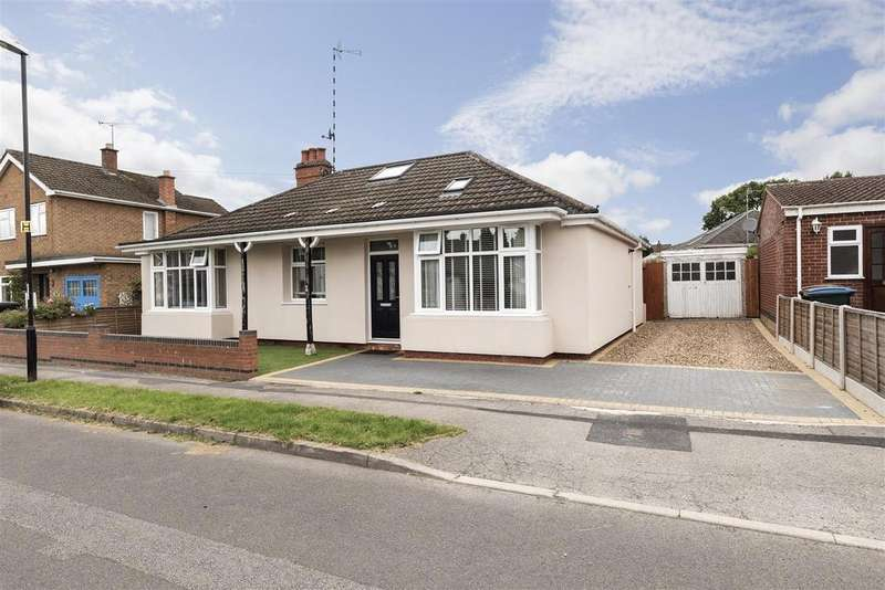 4 Bedrooms Detached Bungalow for sale in Conway Avenue, Tile Hill, Coventry