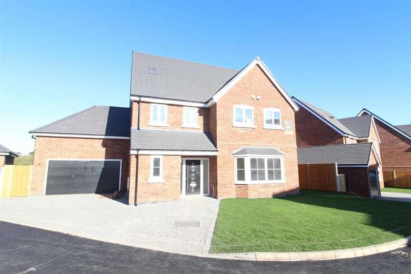 5 Bedrooms Detached House for sale in 7 Winney Hill View, Ellesmere Road, Shrewsbury