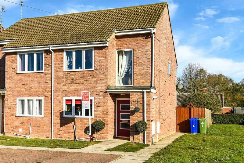 2 Bedrooms Semi Detached House for sale in Allerton Court, Wyberton, PE21