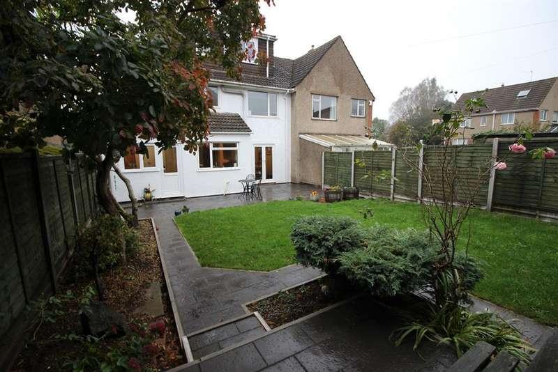 4 Bedrooms Semi Detached House for sale in Beesmoor Road, Coalpit Heath, Bristol, BS36 2RN