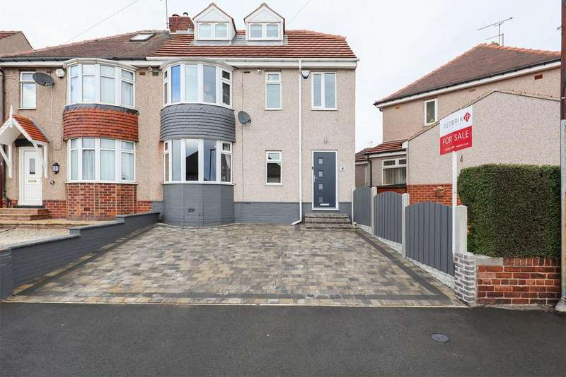 4 Bedrooms Semi Detached House for sale in Moorland View, Charnock