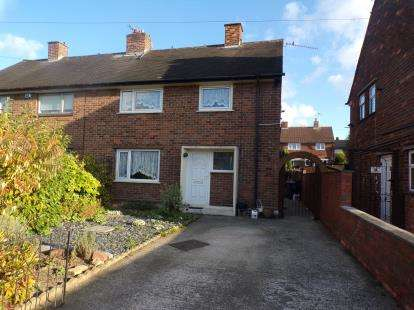 3 Bedrooms Semi Detached House for sale in Lathkill Grove, Tibshelf, Alfreton, Derbyshire