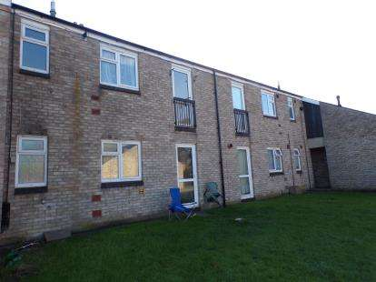 2 Bedrooms Maisonette Flat for sale in Peachs Close, Harrold, Bedford, Bedfordshire