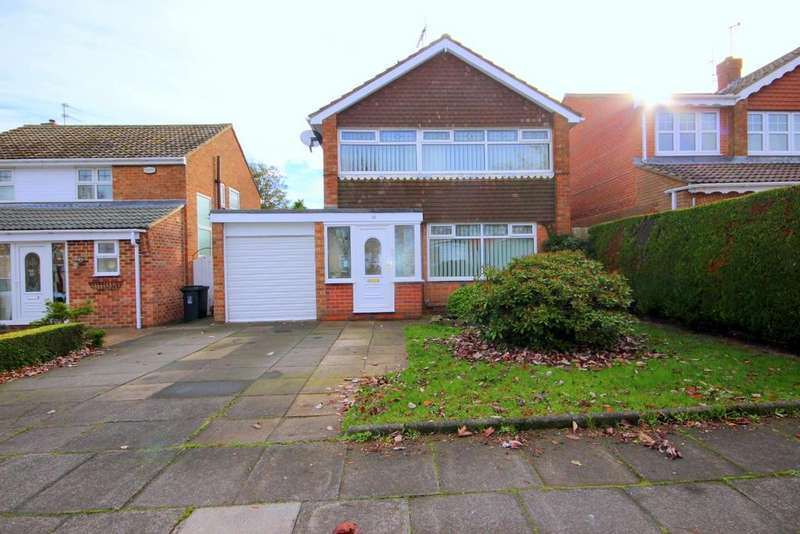 3 Bedrooms Detached House for sale in Thetford Road, Fens, Hartlepool