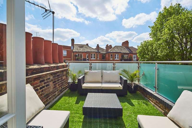 3 Bedrooms Apartment Flat for sale in Edith Grove, London