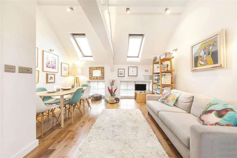 2 Bedrooms Flat for sale in Bagleys Lane, SW6