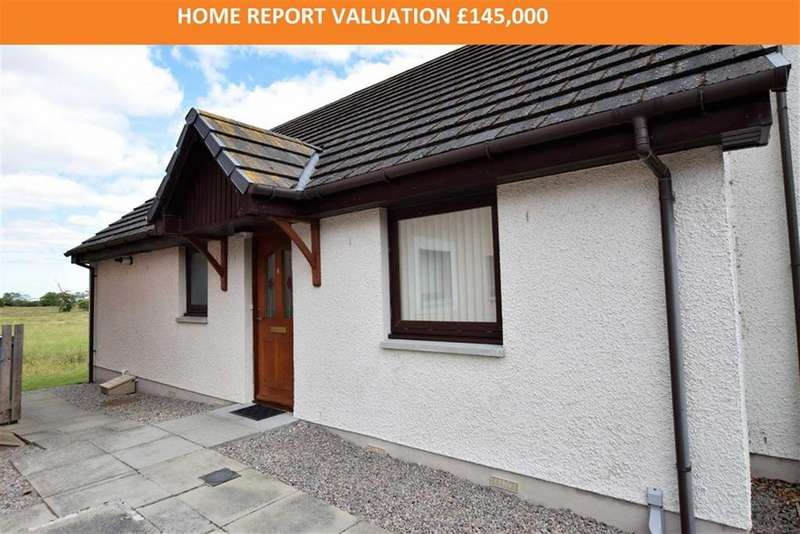 2 Bedrooms Semi Detached Bungalow for sale in Craigend Court, Dingwall, Ross-shire