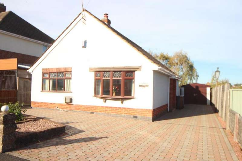 2 Bedrooms Detached Bungalow for sale in The meadway, Burbage