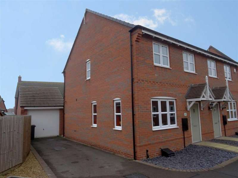 3 Bedrooms Semi Detached House for sale in Old Farm Lane, Newbold Verdon