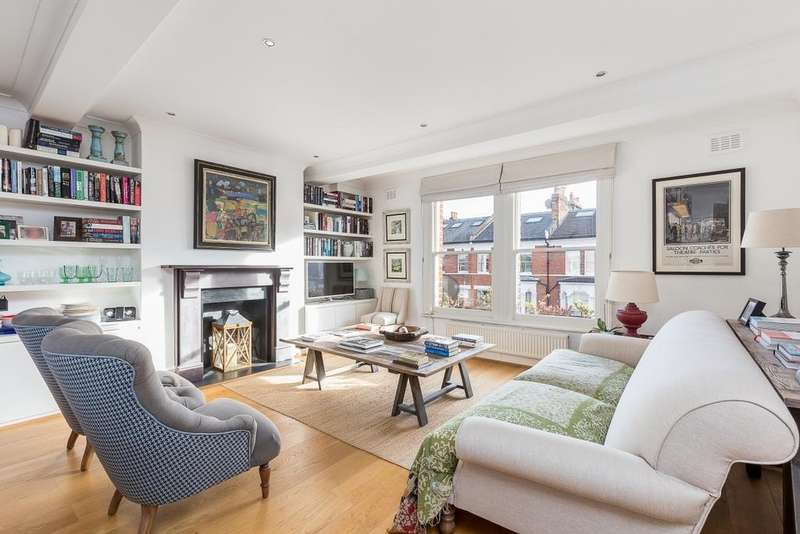 2 Bedrooms Maisonette Flat for sale in Poplar Grove, Brook Green, London, W6