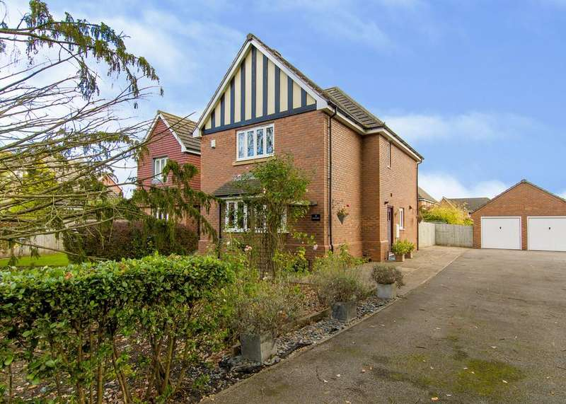 5 Bedrooms Detached House for sale in Spruce Drive, Retford