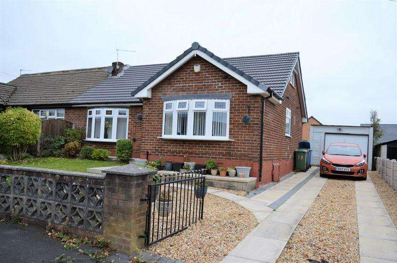 2 Bedrooms Semi Detached Bungalow for sale in Rothwell Road, Golborne, WA3 3EJ