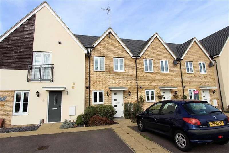 2 Bedrooms Terraced House for sale in Warbler Road, Leighton Buzzard