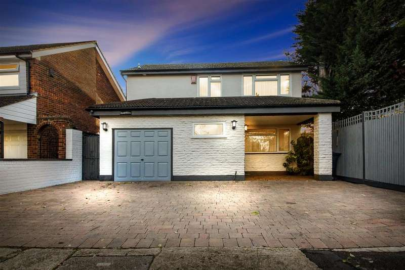 4 Bedrooms Detached House for sale in Stafford Close, Cheshunt