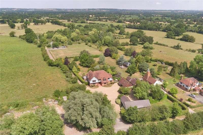 5 Bedrooms Detached House for sale in Love Lane, Headcorn, Ashford, Kent, TN27