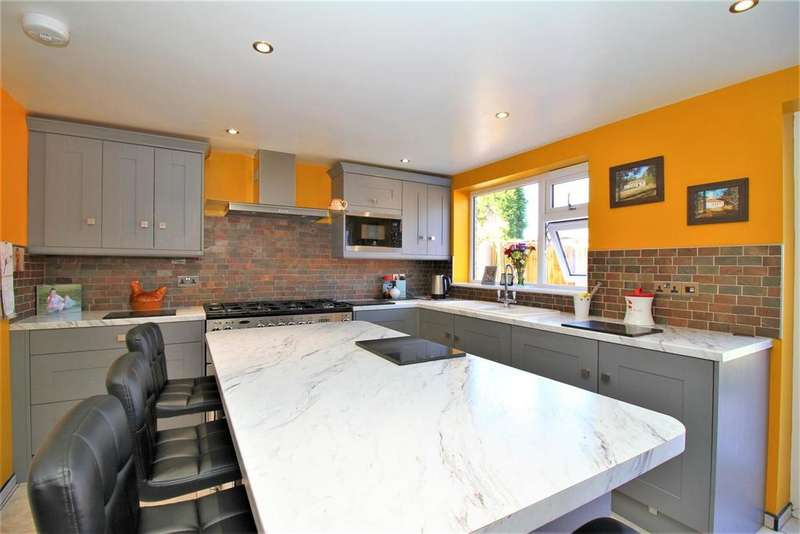 4 Bedrooms Detached House for sale in Silver Street, Whitwick, Coalville