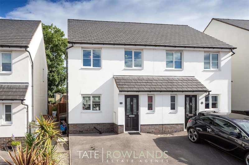 3 Bedrooms Semi Detached House for sale in Maes Y Goron, Lixwm, Holywell, Flintshire, CH8