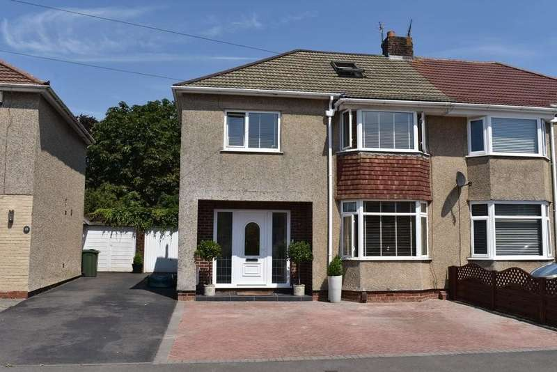 4 Bedrooms Semi Detached House for sale in Parkside Avenue, Winterbourne
