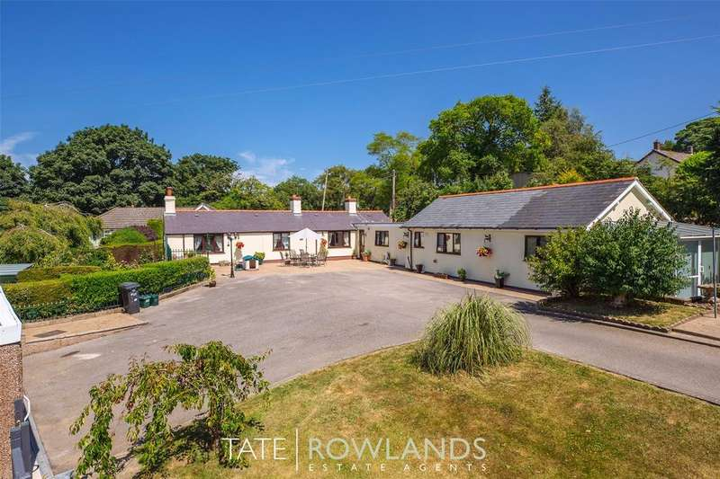 3 Bedrooms Detached Bungalow for sale in Bryn Y Berthen, Lixwm, Holywell, CH8
