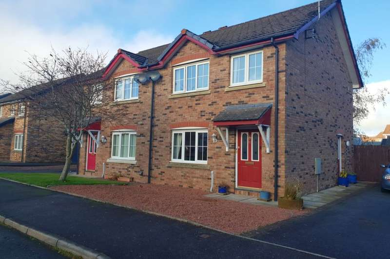 3 Bedrooms Semi Detached House for sale in Ash Grove, Heathhall, Dumfries, DG1