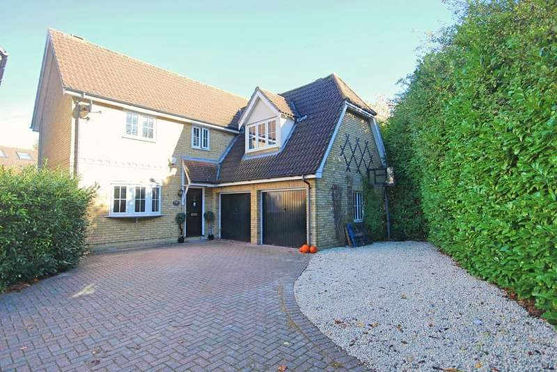 4 Bedrooms Detached House for sale in Framlingham Way, Great Notley, Braintree, CM77