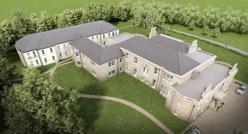 3 Bedrooms Apartment Flat for sale in The Mansion House/Larbert House, Quintinshill Drive, Larbert, Falkirk, FK5 4XU