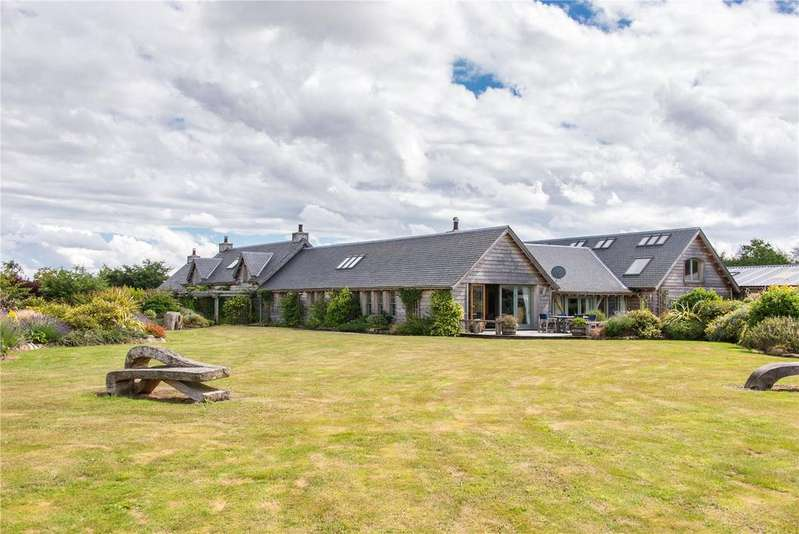 6 Bedrooms Detached House for sale in Berrybrae, Wester Essendy, Blairgowrie, Perthshire