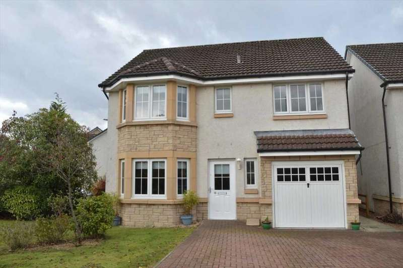 4 Bedrooms Detached House for sale in 18 Sandpiper Meadow, Alloa, FK10 1QU, UK