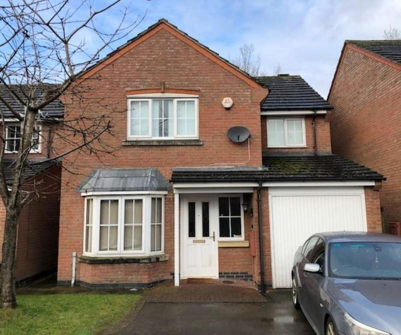 4 Bedrooms Detached House for sale in Fludes Court, Oadby, Leicester, LE2 4QQ