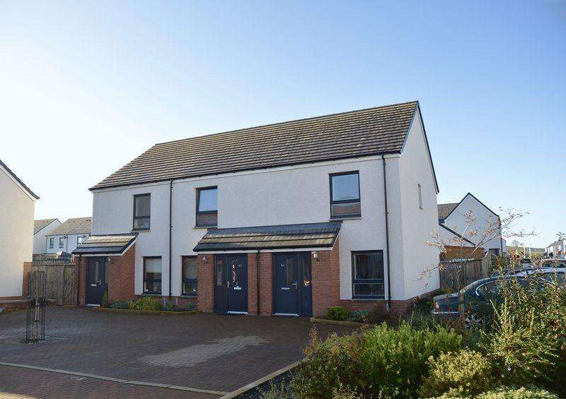 2 Bedrooms Semi-detached Villa House for sale in Kintyre Park, Ayr