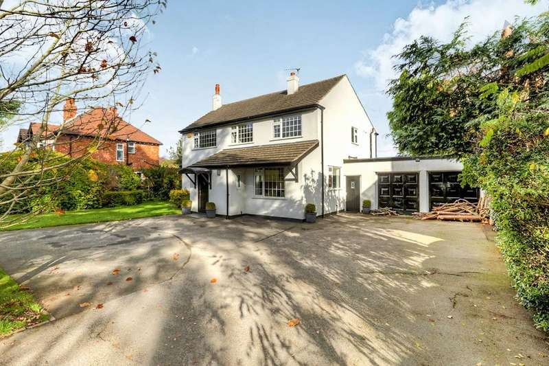 4 Bedrooms Detached House for sale in Hall Moss Lane, Bramhall, Stockport, SK7