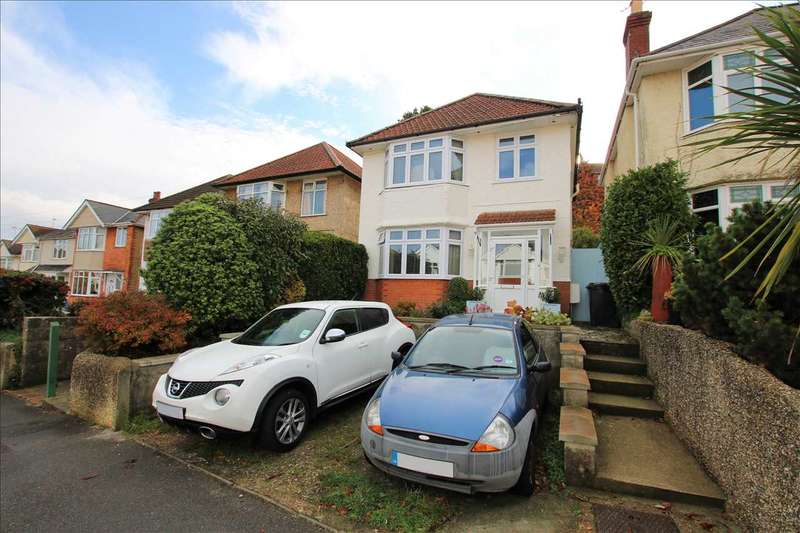 3 Bedrooms Detached House for sale in Wroxham Road, Branksome, Poole