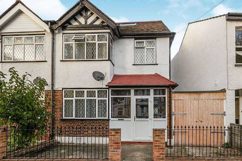 4 Bedrooms Semi Detached House for sale in Sunnycroft Road, London, SE25