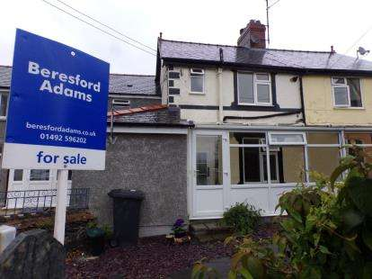 2 Bedrooms Terraced House for sale in Gower Road, Trefriw, Conwy, LL27