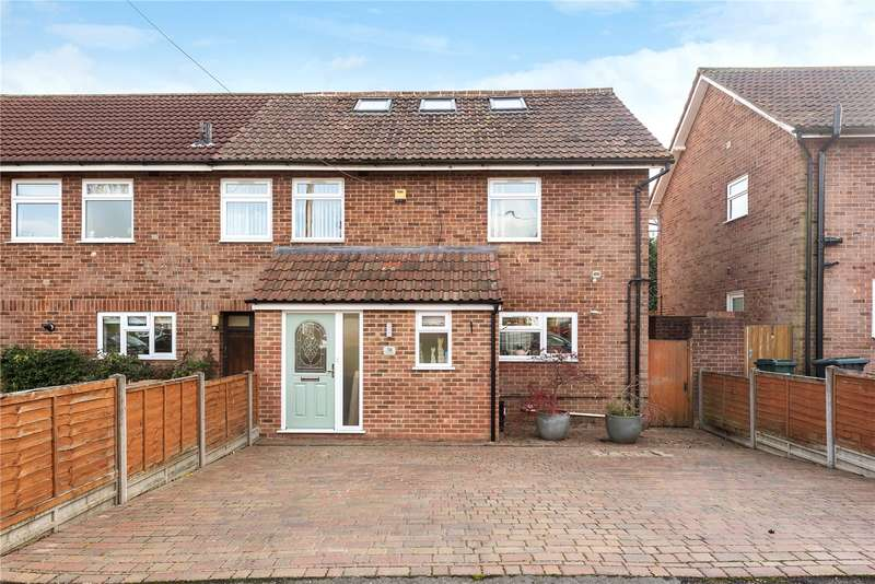 4 Bedrooms End Of Terrace House for sale in Owens Way, Croxley Green, Rickmansworth, Hertfordshire, WD3