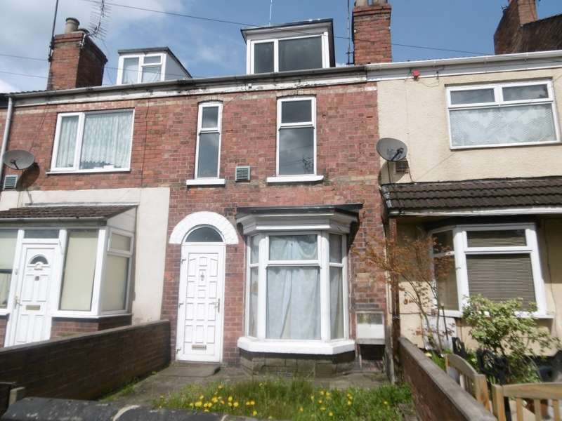 3 Bedrooms Terraced House for sale in 19 Marlborough Street, Gainsborough, Lincolnshire