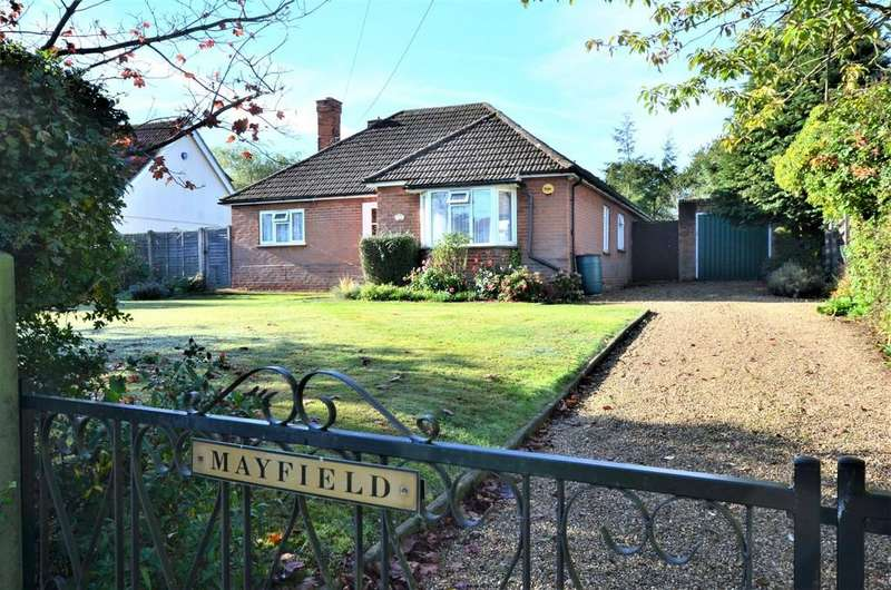 4 Bedrooms Detached Bungalow for sale in Halstead Road, Eight Ash Green, CO6 3QJ