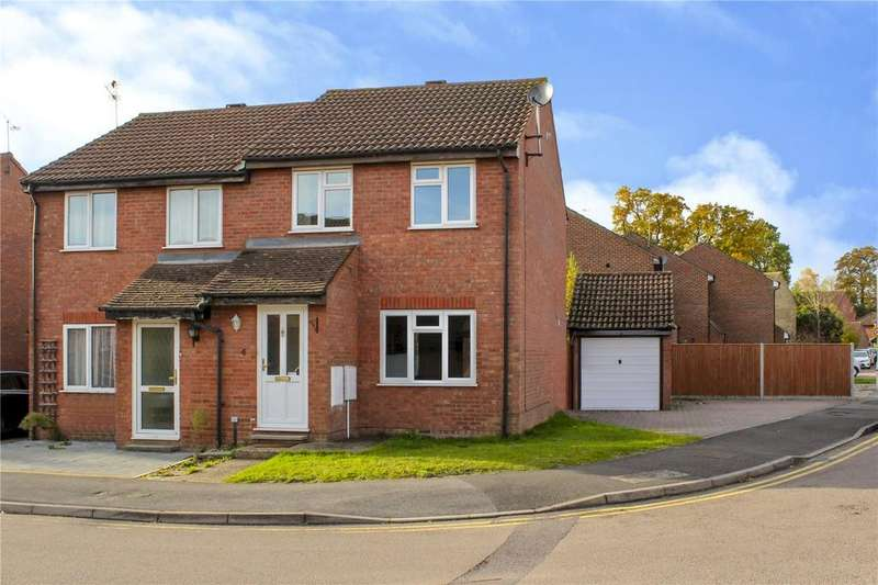 3 Bedrooms Semi Detached House for sale in Cross Gates Close, Martins Heron, Bracknell, Berkshire, RG12