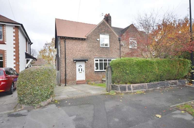 3 Bedrooms Semi Detached House for sale in Saint Mark's Avenue, Altrincham