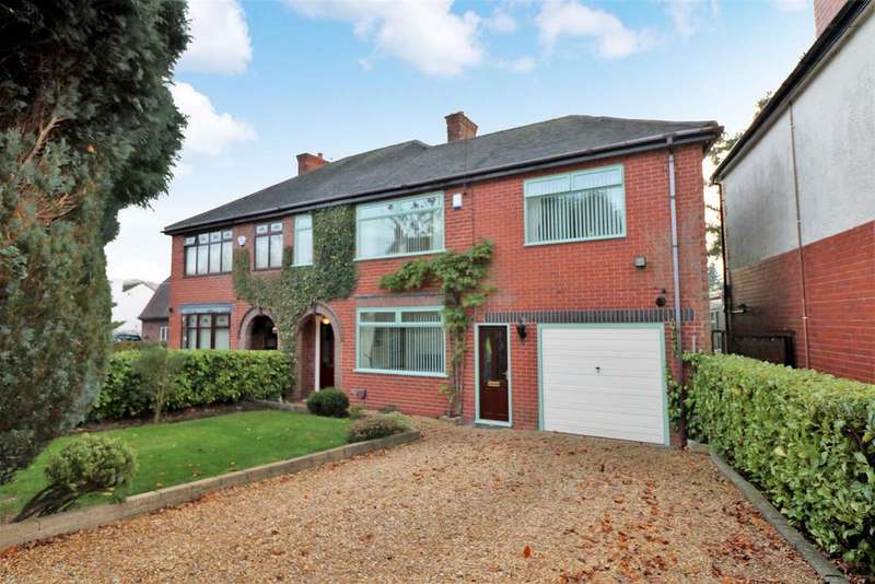 4 Bedrooms Semi Detached House for sale in Jack Haye Lane, Light Oaks, Stoke-On-Trent