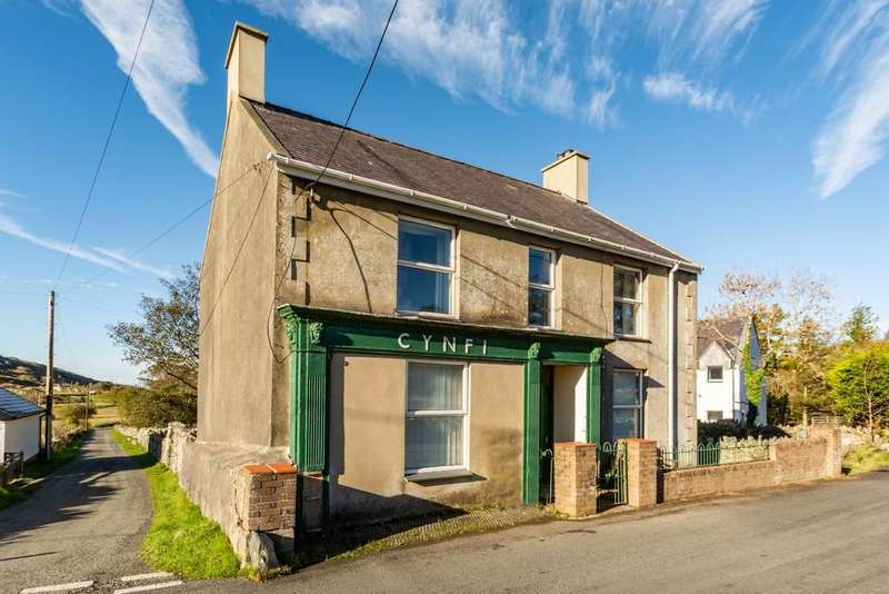 3 Bedrooms Detached House for sale in Deiniolen, Caernarfon, North Wales