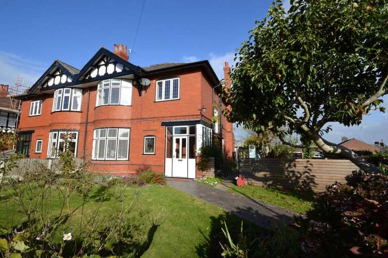 4 Bedrooms Semi Detached House for sale in York Drive, Grappenhall, Warrington
