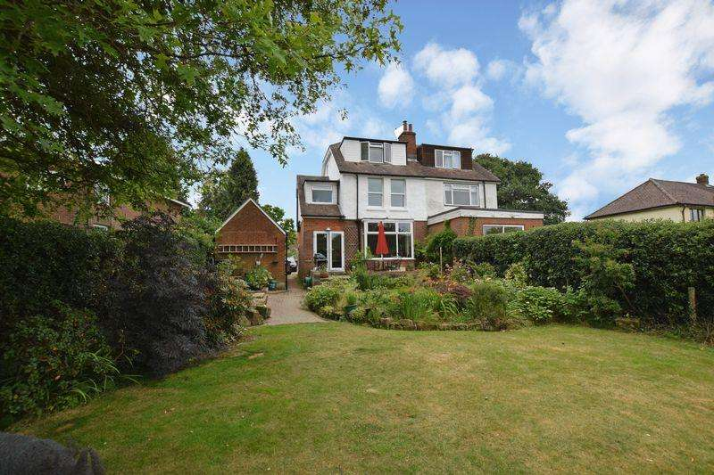 4 Bedrooms Semi Detached House for sale in Blackness Road, Crowborough, TN6