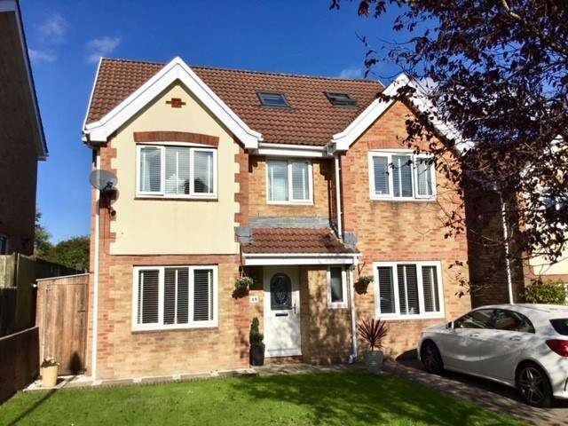 5 Bedrooms Detached House for sale in Clos Enfys, Caerphilly, CF83