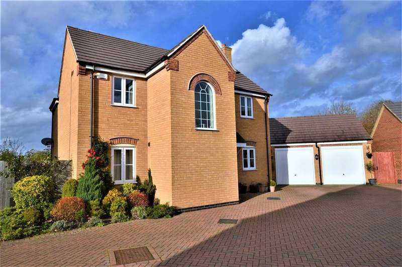 4 Bedrooms Detached House for sale in Belvoir Close, Stamford
