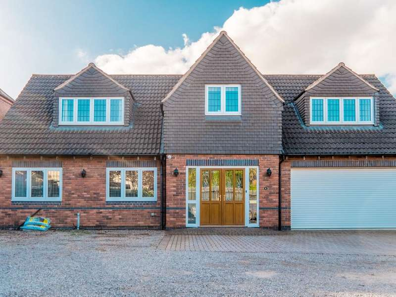 5 Bedrooms Detached House for sale in Horton Close, LE2