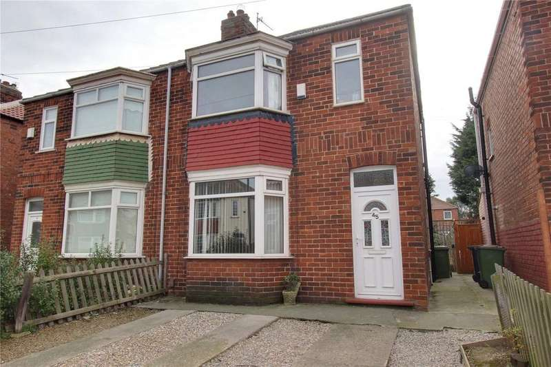 3 Bedrooms Semi Detached House for sale in Grinkle Road, Redcar