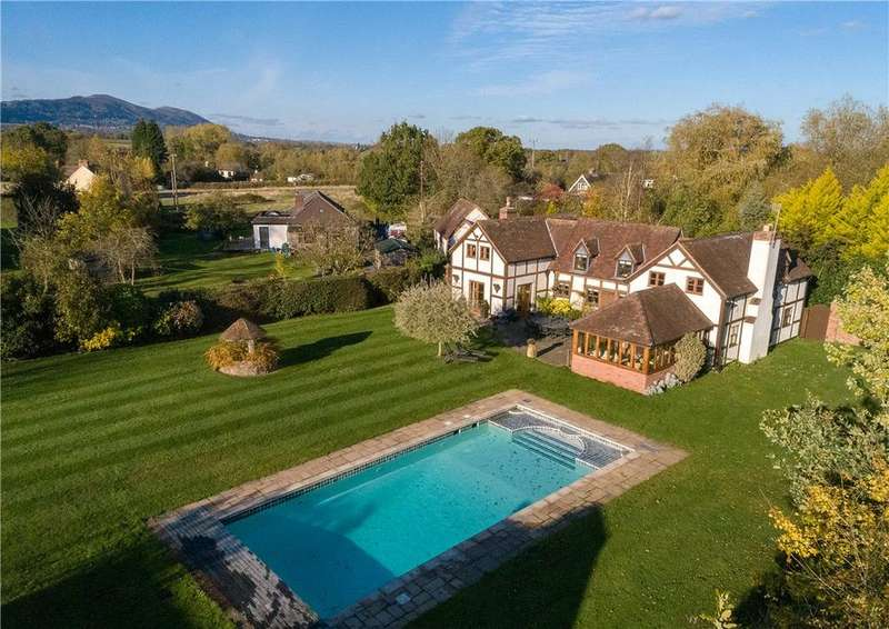 5 Bedrooms Detached House for sale in Morton Green, Welland, Malvern, Worcestershire, WR13