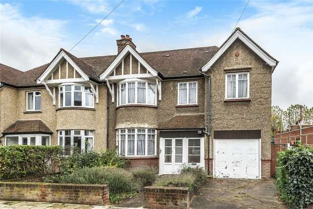 4 Bedrooms Semi Detached House for sale in Beverley Crescent, Bedford