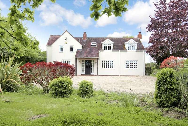 4 Bedrooms Detached House for sale in Bush Lane, Callow End, Worcester, Worcestershire, WR2
